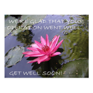 LOVE YOU ,  GET WELL POSTCARD