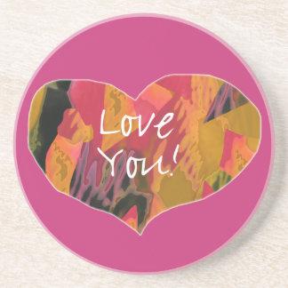 Love You! Heart - Coaster