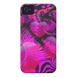 Love You Hearts Case-Mate iPhone 4 Cases