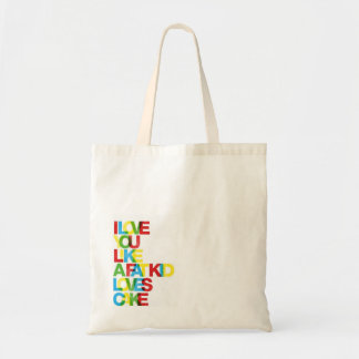 Love You Like a Fat Kid Loves Cake Tote