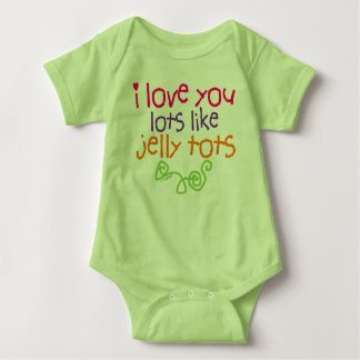 Love You Lots Like Jelly Tots Baby Bodysuit