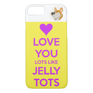 love you lots my corgi iPhone 8/7 case