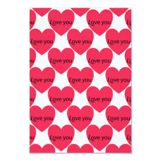 Love You Love You Valentine's Day Party Invitation