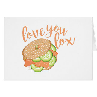 Love You Lox Card