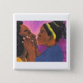 Love You Mama 2 Inch Square Button