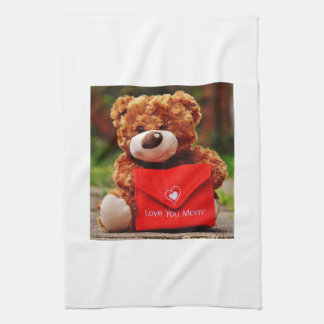 Love you Mom Kitchen Towel