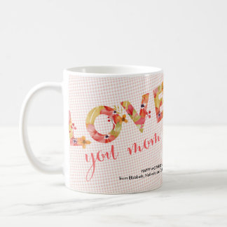 Love you mom | Photo Collage Mother's Day Mug