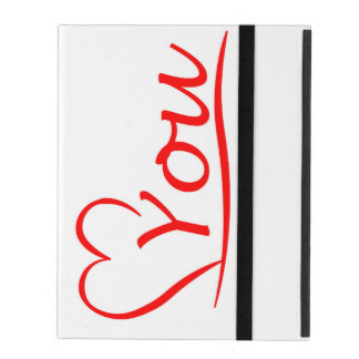 Love You, my heart is always open for you iPad Case
