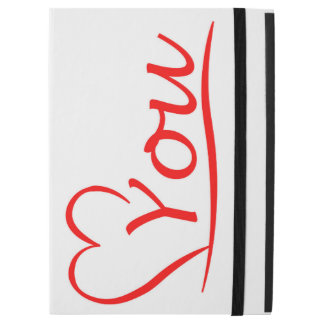 """Love You, my heart is always open for you iPad Pro 12.9"""" Case"""