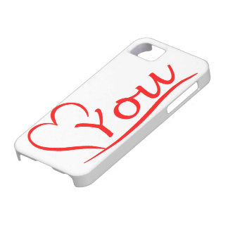 Love You, my heart is always open for you iPhone 5 Cover