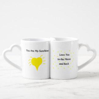 Love  You Nesting Mugs