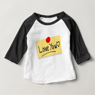 Love you note baby T-Shirt