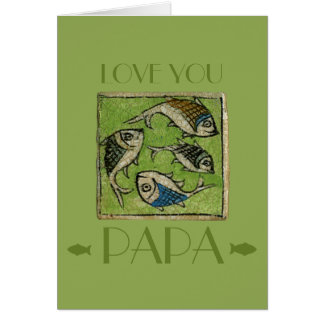 Love You Papa Card
