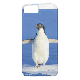 Love you penguin gift iPhone 7 case