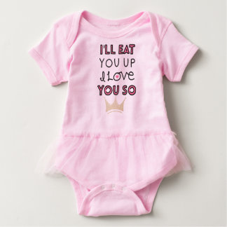 Love you so baby bodysuit