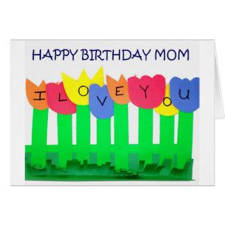 LOVE YOU/SPECIAL MOM HAPPY BIRTHDAY CARD