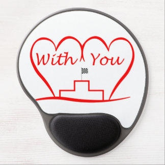 Love You, successfully with you together Gel Mouse Pad