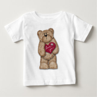 Love You Teddy Bear Shirt