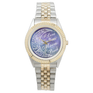 Love You To The Moon and Back Fancy Starry Night Watch