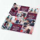 Love you to the moon and back photo wrapping paper