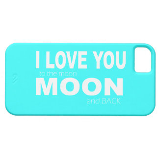 LoVE YOU TO THE MOON & BACK CUTE IPHONE CASE