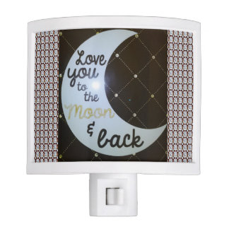 Love You To The Moon & Back Diamonds Night Light