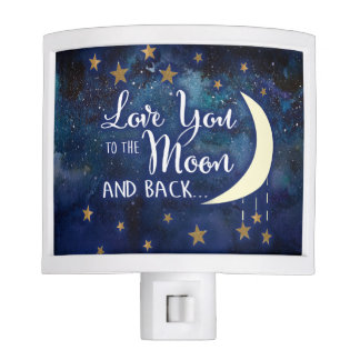 Love You to the Moon & Back Night Light