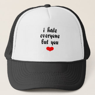 Love you trucker hat