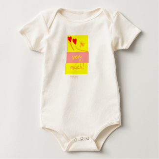 Love you very much! baby bodysuit