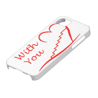 Love You, with you together the stairs up iPhone 5 Case