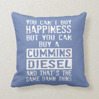 Love Your Diesel Truck? Throw Pillow