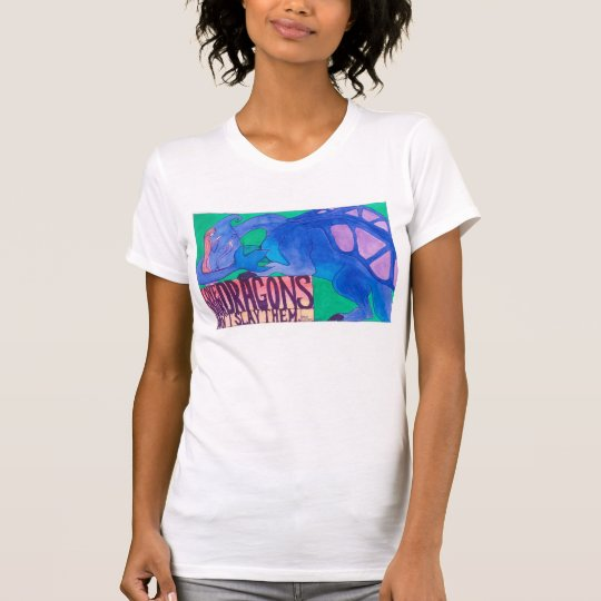 'Love Your Dragons' Womens Tshirt