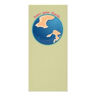 Love your Earth Book Mark Rack Card