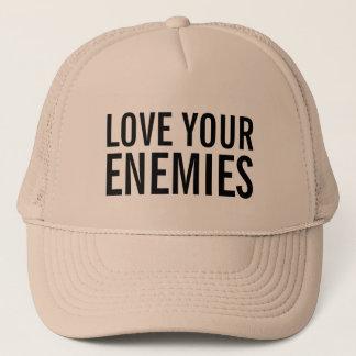 Love your enemies hat