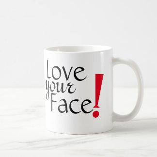 Love Your Face Mug