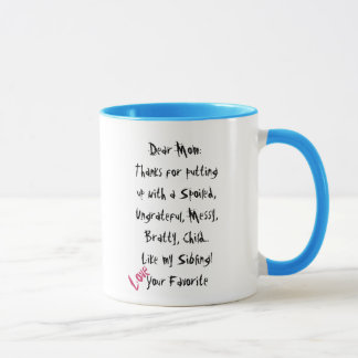 Love Your Favorite! Mom Mug