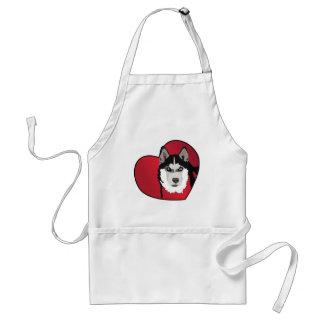 Love Your Husky Standard Apron