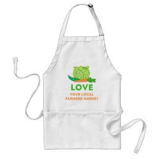 Love Your Local Farmers Market Standard Apron