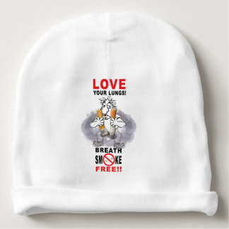 Love Your Lungs - Stop Smoking Baby Beanie
