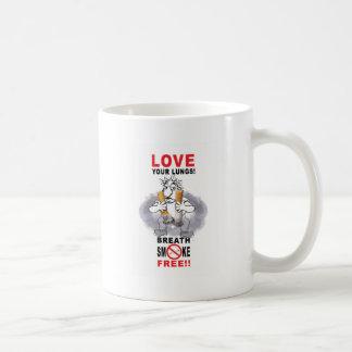 Love Your Lungs - Stop Smoking Coffee Mug
