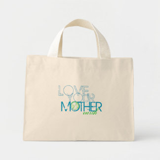 """""""Love Your Mother"""" Earth Vintage Canvas Bags"""