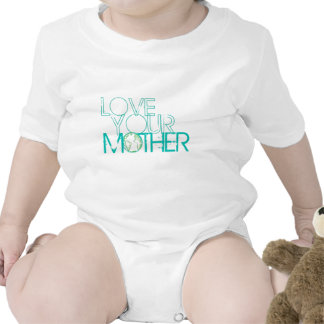 """""""Love Your Mother"""" Earth Vintage Romper"""