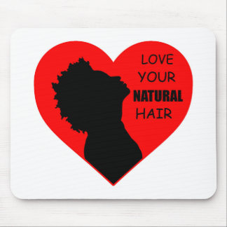 Love Your Natural Hair Mouse Pad