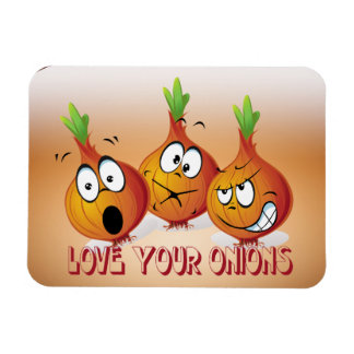 Love your onions Premium Magnet