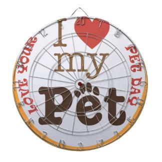 Love Your Pet Day - Appreciation Day Dartboard