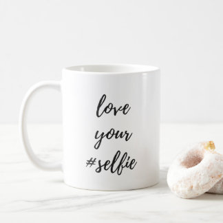 Love Your #Selfie Classic Mug
