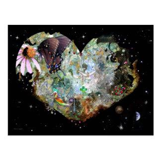 Love your World! Postcard