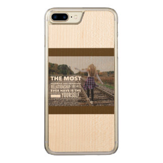 Love Yourself Carved iPhone 8 Plus/7 Plus Case