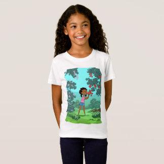 Loveable Flowers design T-shirt