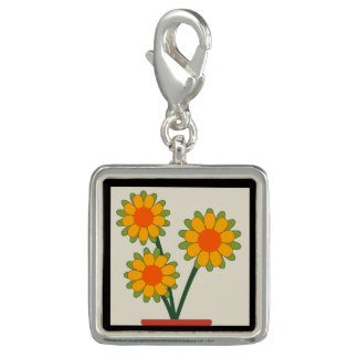 Loveable Sunflowers Charm